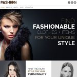 Fashion or lifestyle blog website by Celeste Graphics, affordable frelance graphic and web designer in Manila, Philippines